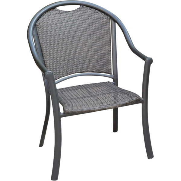 Faux Wicker Outdoor Chair, Commercial Hotel Pool Furniture