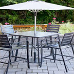 Aluminum Outdoor Seating, Cape Soleil
