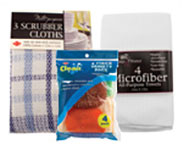 Additional Kitchen Linens & Cleaning