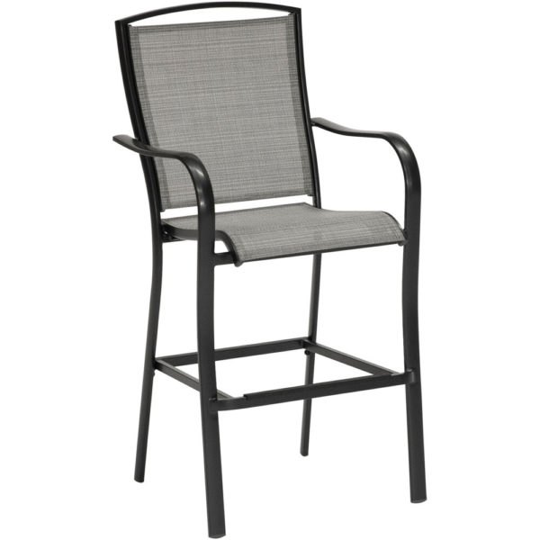 Commercial Outdoor Sling Furniture, Bar Height Pub Chair