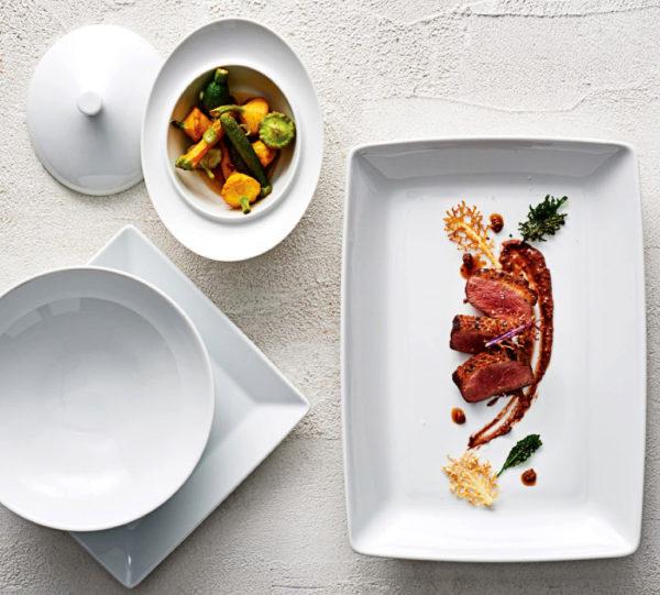 Hotel Banquet Dinnerware, Steelite Royal Porcelain, Tahara