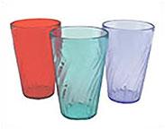 Stackable Acrylic Drinkware