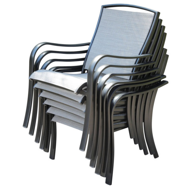 Hotel stacking chairs