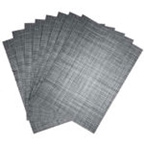 Tweed Woven Vinyl Placemats