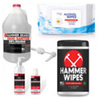 Disinfectants, Sanitizers and Wipes