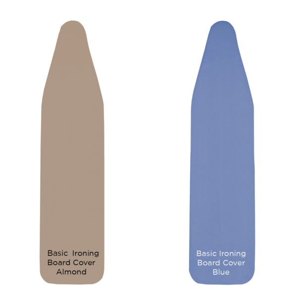 Basic Ironing Board Cover for Hotel Use - blue or almond