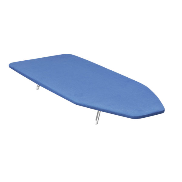 """Countertop Ironing Board 30"""" x 12"""" - Blue Cover"""