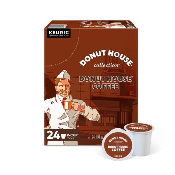K-Cup, Donut House, Coffee, pod, keurig
