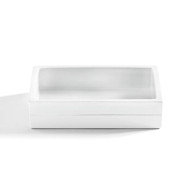 Cabana Soap Dish White