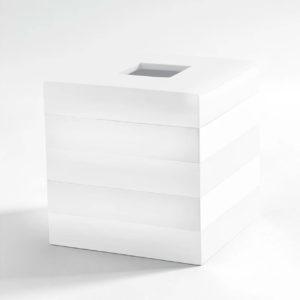 Cabana Tissue Holder White
